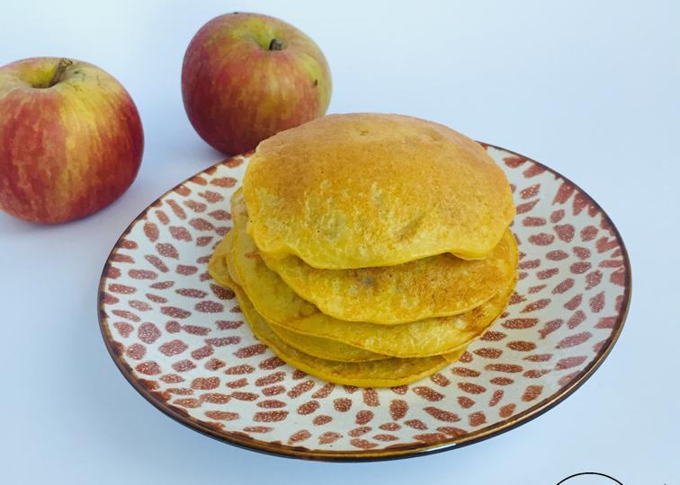 Receita panquecas maçã1