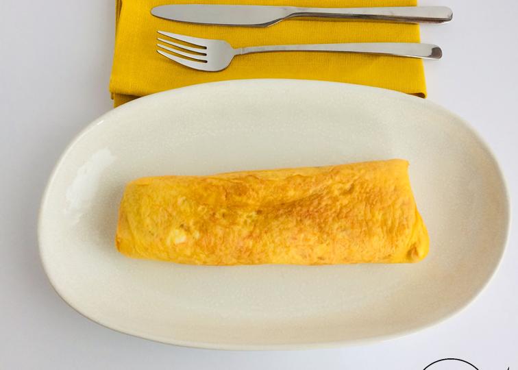 Omelete enrolada1